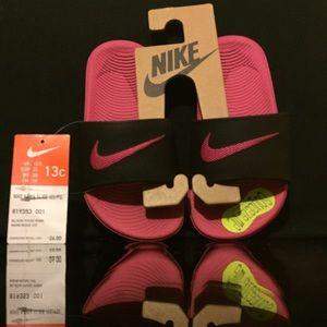 Nike kids sandal sz 13c